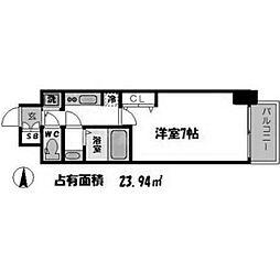 サムティ福島PORTA[4階]の間取り