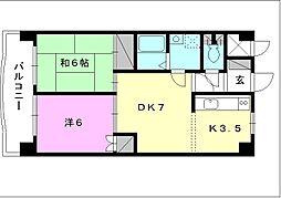 第7ミサワハウス[302 号室号室]の間取り