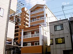 京都府京都市中京区聚楽廻南町の賃貸マンションの外観