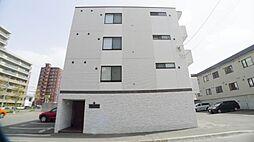 北海道札幌市西区宮の沢一条4丁目の賃貸マンションの外観