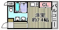 Re−Life阪南[102号室]の間取り