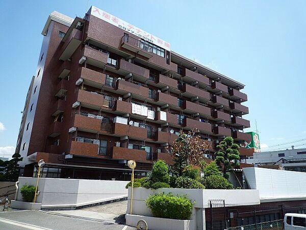 第2泰山ハイツ[6階]の外観