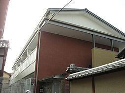 京都府京都市北区平野宮西町の賃貸アパートの外観