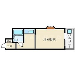 エンビラム野江都島[3階]の間取り