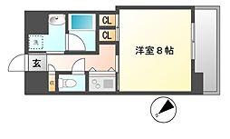 グランエターナ名古屋鶴舞[11階]の間取り