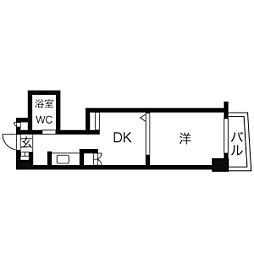 プロクシィスクエア本郷[1階]の間取り