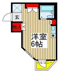 シティ志木本町[303号室]の間取り