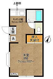 メゾン井田I[102号室]の間取り