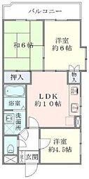 宇山パークマンション[2階]の間取り