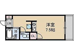 MMクラブ[1階]の間取り