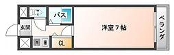 シャトレ豊津I[2階]の間取り