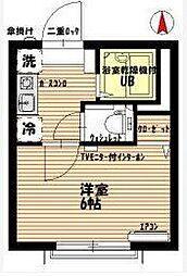 パインフォレスト[2階]の間取り