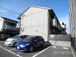 京都府京都市西京区桂河田町の賃貸アパートの外観