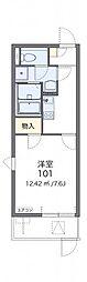 レオネクストNakajyu[203号室]の間取り