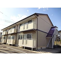 長野県長野市三本柳東3丁目の賃貸アパートの外観