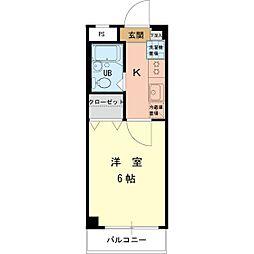 ハイムロアール[2階]の間取り