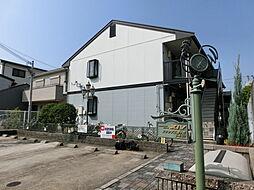 大阪府堺市堺区北三国ヶ丘町5丁の賃貸アパートの外観