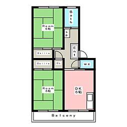 北安城駅 4.4万円