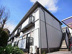 千葉県柏市豊住5の賃貸アパートの外観