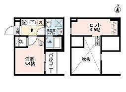 ALLURE358[1階]の間取り