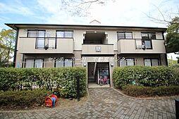 岡山県岡山市東区西大寺の賃貸アパートの外観