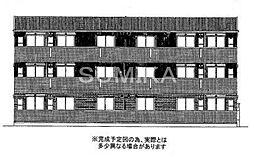 パームツリーB[3階]の外観