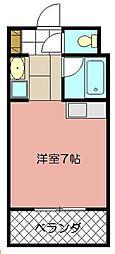 オリエンタル折尾駅[211号室]の間取り