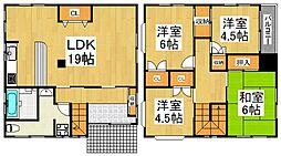 [一戸建] 東京都東久留米市本町3丁目 の賃貸【東京都 / 東久留米市】の間取り