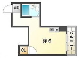 ムーンライズ[4階]の間取り