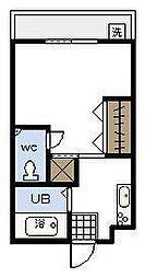 リベットハウス[305号室]の間取り
