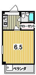 森マンション3[205号室]の間取り