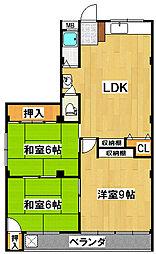 高田マンション[3階]の間取り