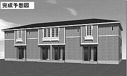 鹿児島県日置市伊集院町徳重の賃貸アパートの外観