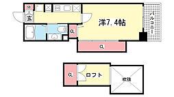 Alpha Regalo Hyogo[5階]の間取り