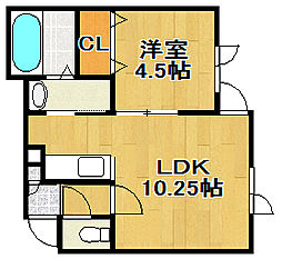 AqrisII[1階]の間取り