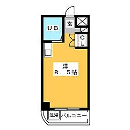 サングリーン御器所[3階]の間取り