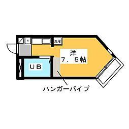 BELLE TOPIA 稲沢 V[5階]の間取り
