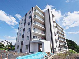 栃木県宇都宮市鶴田町の賃貸マンションの外観