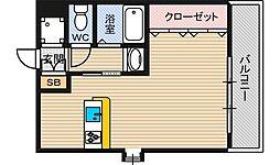 シェリール木村Part3[3階]の間取り