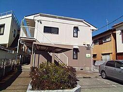 千葉県船橋市田喜野井5丁目の賃貸アパートの外観