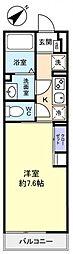 リブリ・八千代台西[1階]の間取り