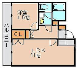 ダイヨシビル[4階]の間取り