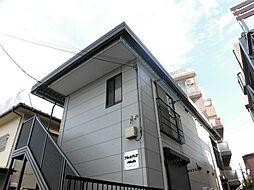 神奈川県川崎市中原区上新城2丁目の賃貸アパートの外観