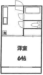 フォーブルキシダ[2階]の間取り