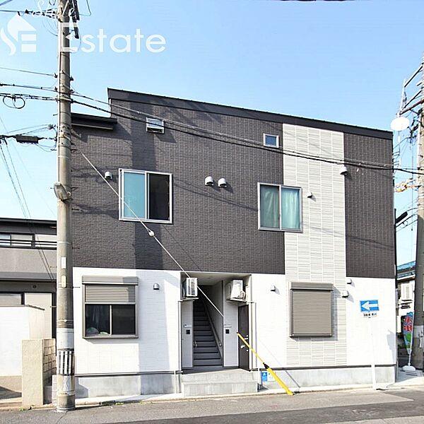 愛知県名古屋市港区港栄4丁目の賃貸アパートの外観