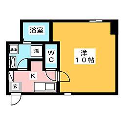 サンクチュアリOGAKI[3階]の間取り