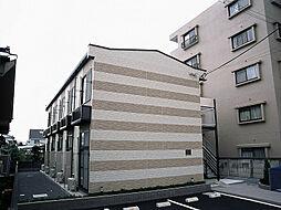 東京都福生市志茂の賃貸アパートの外観