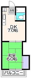 コーポアスナロ[2階]の間取り