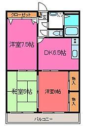 ソレイユ香栄II[303号室]の間取り