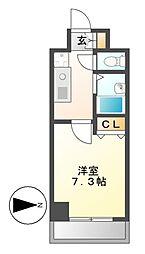 クレストステージアスカ[2階]の間取り